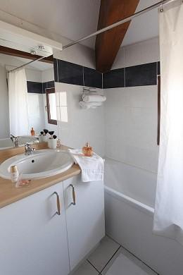 Adonis carcassonne - residence la barbacane - baño