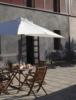 Adonis Carcassonne - residence la barbacane - terraza exterior