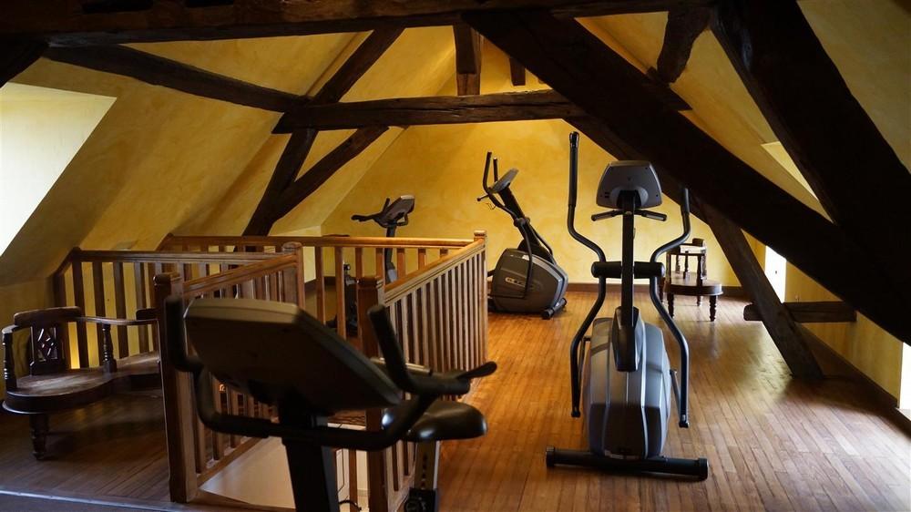 Domaine des thômeaux, hotel spa ristorante - area fitness