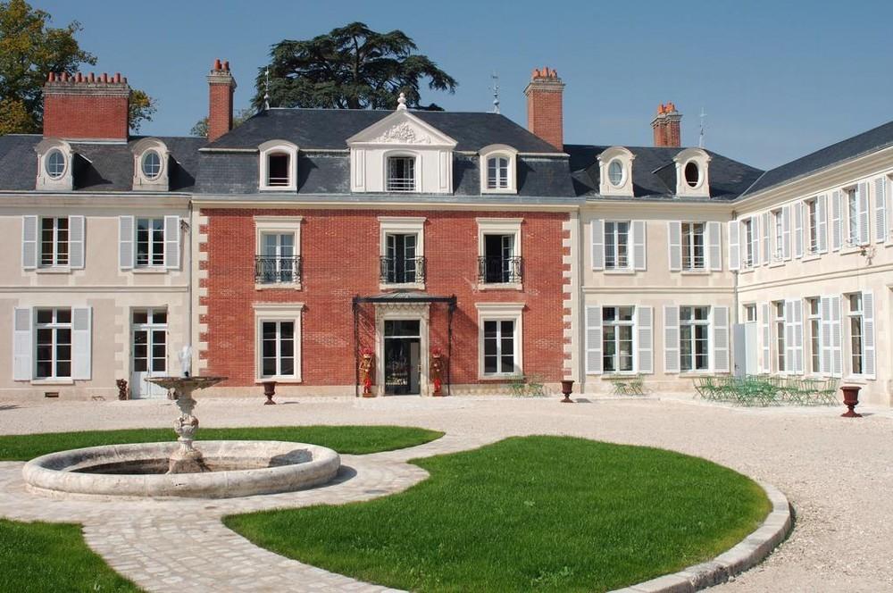 Domaine des thômeaux, ristorante con spa dell'hotel - fuori dalla tenuta