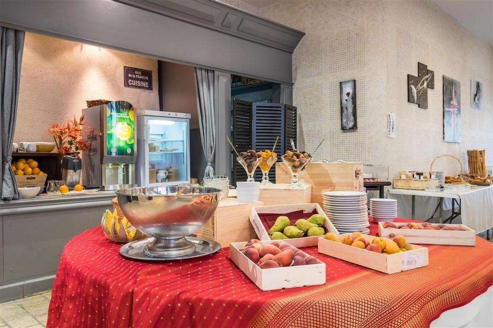 Domaine des Thômeaux, Hotel-Restaurant Spa - Frühstück