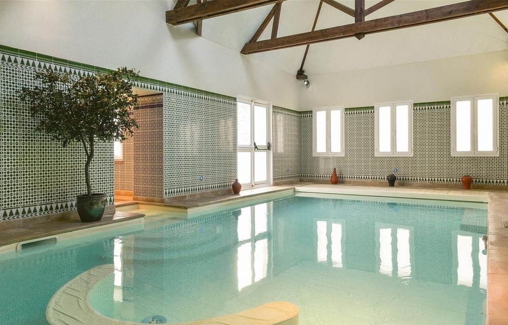 Domaine des thômeaux, hotel spa restaurant - swimming pool