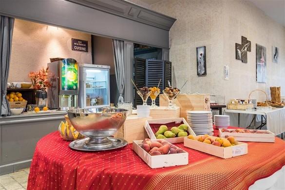 Domaine des thômeaux, hotel restaurante spa - desayuno