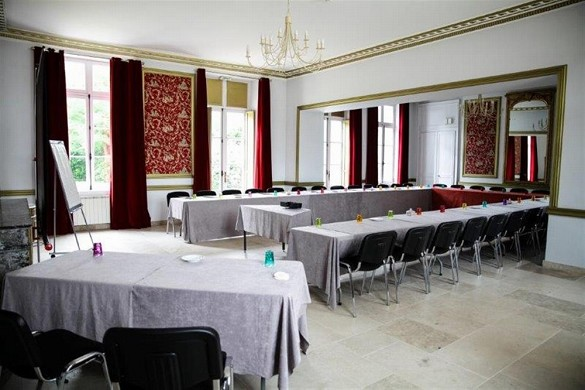 Domaine des thômeaux, hotel restaurante spa - sala de seminarios