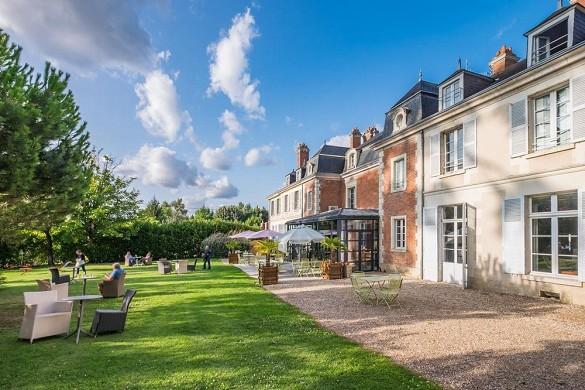 Domaine des thômeaux, restaurante del hotel spa - zona encantadora