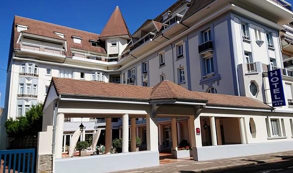 Hotel bristol le touquet paris beach - exterior