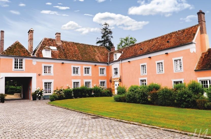 Das Herrenhaus des großen gemeinsamen - Ort der Seine-et-Marne Seminar