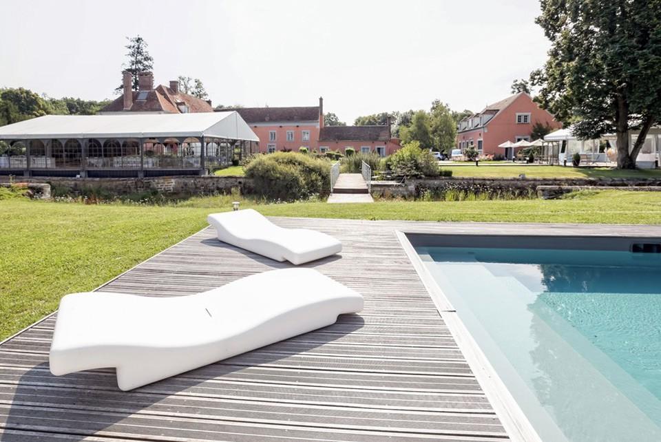 Das Herrenhaus des großen gemeinsamen - Pool