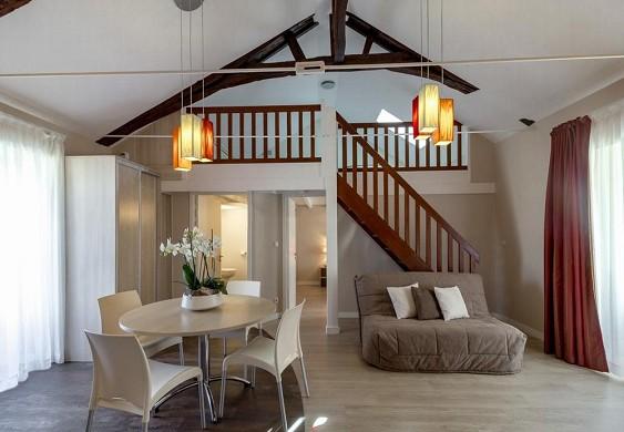 Résidence la pommeraie - sala de estar