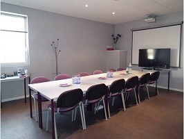 Aéropôle Villaroche - prepared meeting room