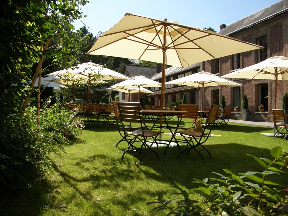 Unicorn Hotel & Spa - Terrasse