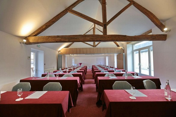 Hotel and Spa combines the vine burgundy - seminar room