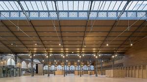 Carreau du Temple - Parigi sala di ricevimento