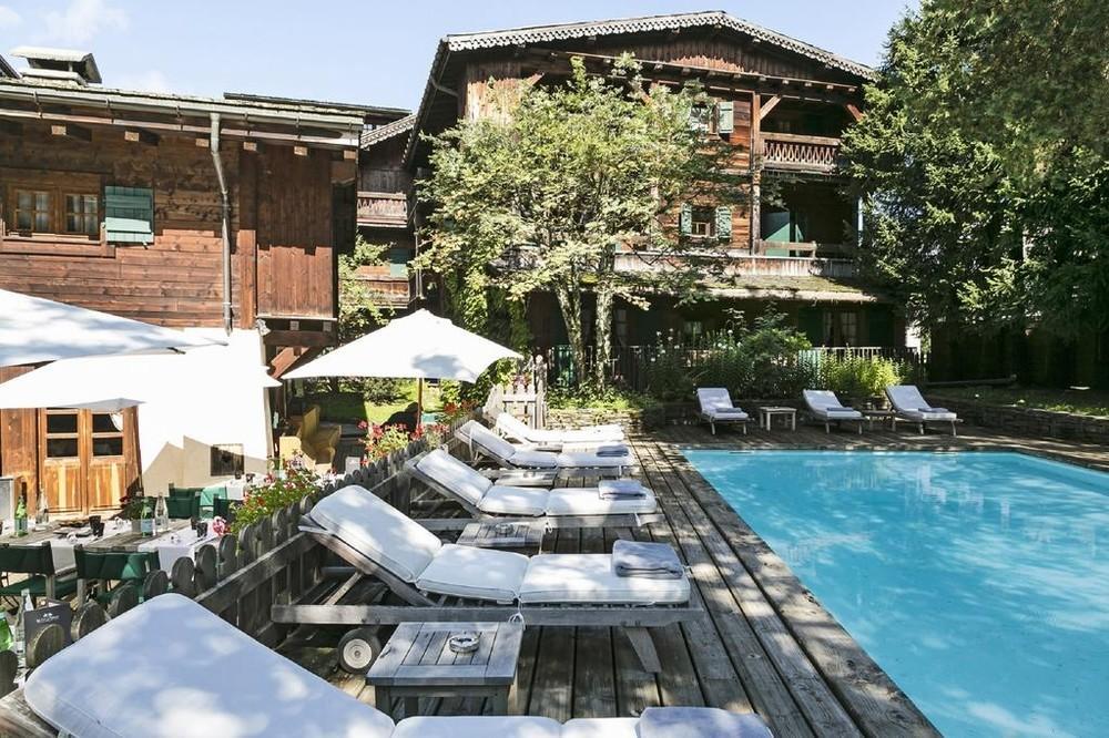 Hotel Megeve Piscine