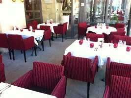 Brasserie du theatre angers tables