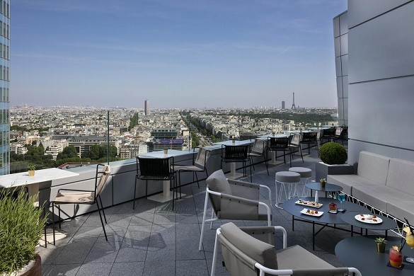 Meliá paris la defence - terrazza