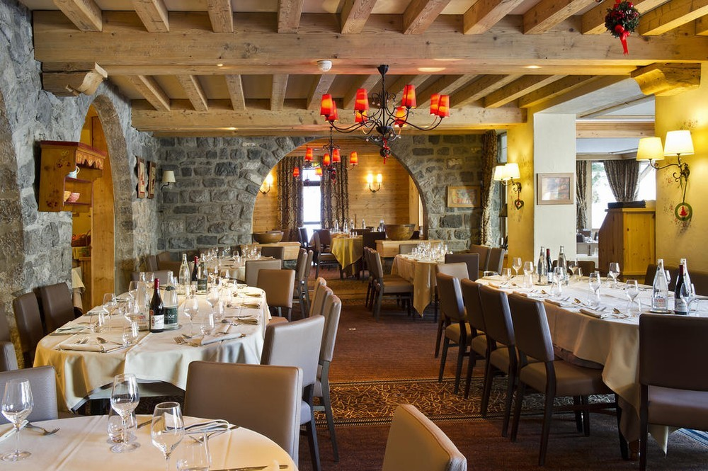 Beauregard Hotel La Clusaz - Ristorante