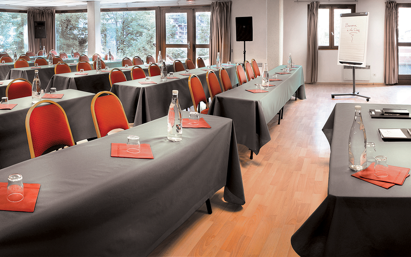 Beauregard Hotel La Clusaz - sala riunioni