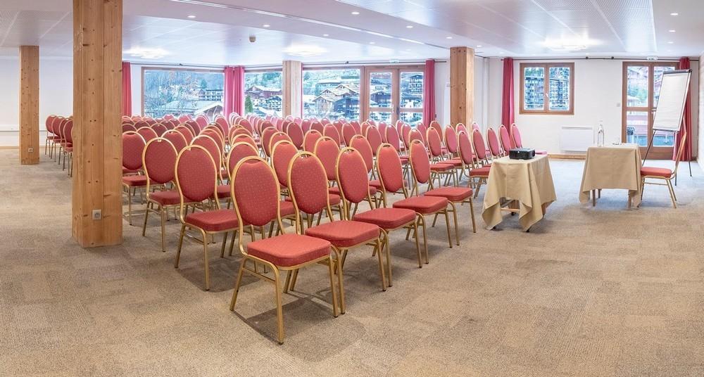 Hotel beauregard la clusaz - sala per seminari