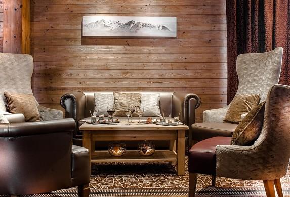 Beauregard Hotel La Clusaz - relaxation area