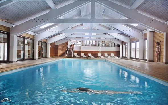 Beauregard Hotel La Clusaz - Swimming