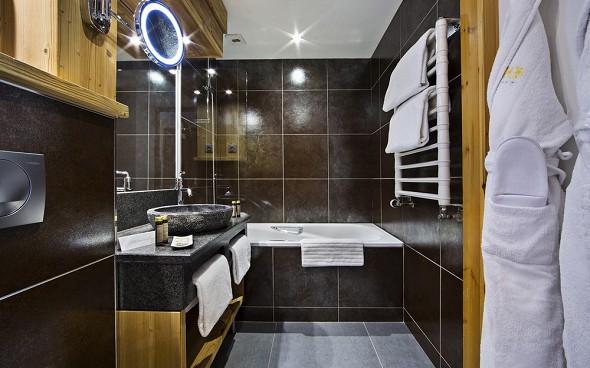 Beauregard Hotel La Clusaz - Badezimmer