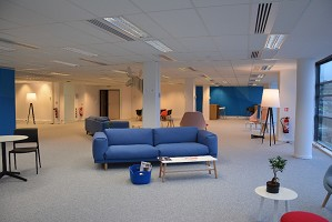 Blue Office Massy - renting a room in massy