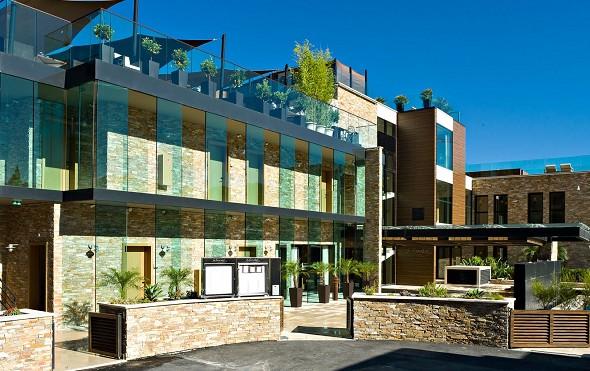 Hostellerie la farandole - facciata di questo magnifico luogo