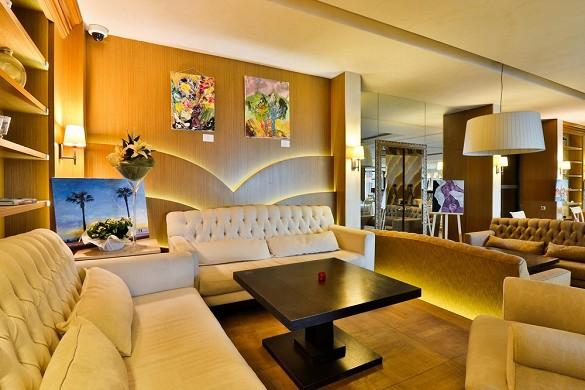 Hostellerie la farandole - lounge