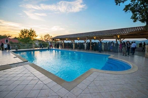 Château de roquefeuille - piscine