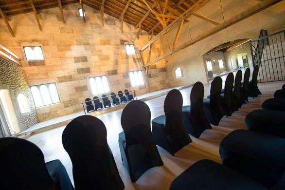 Château de roquefeuille - salle de réunion