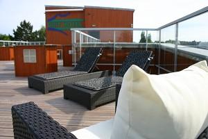 Brit Hotel Alghotel Cancale - terrazza