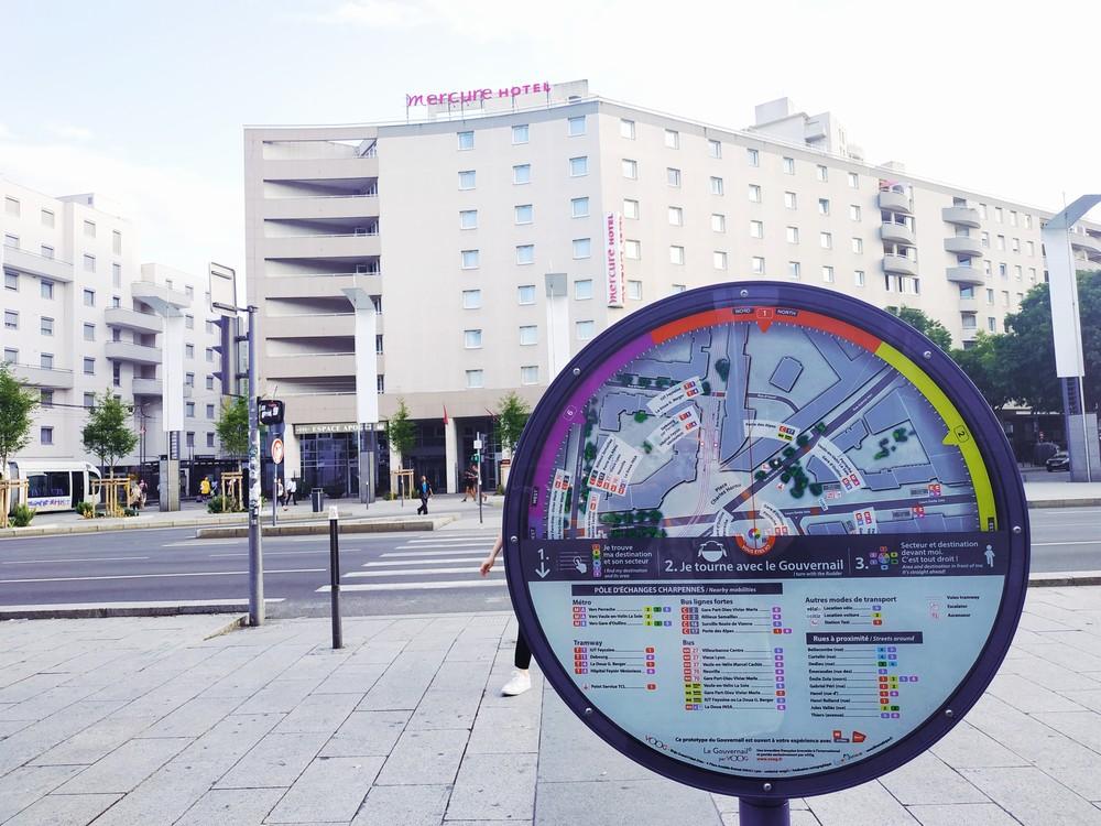 Mercure Lyon Centre Charpennes - Außenansicht