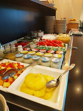 Mercure Lyon center charpennes - breakfast buffet