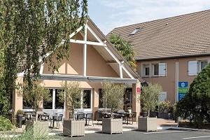 Sicher Hotel von Best Western Châteauroux - Fassade