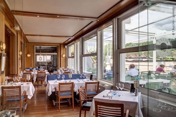 Hotel lyon metropole - restaurant