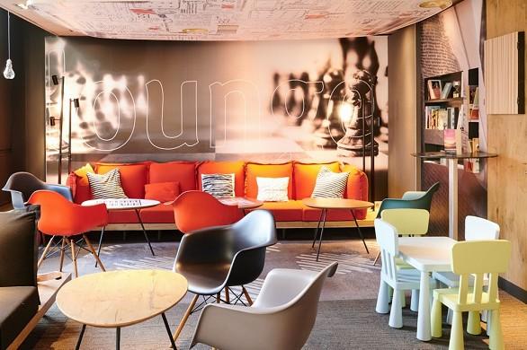 Novotel ibis Gerland Confluences Museum - ibis: Lounge