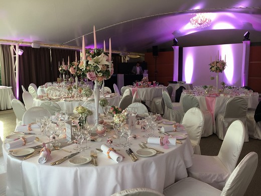 Imperial palace - imperial tent - wedding evening