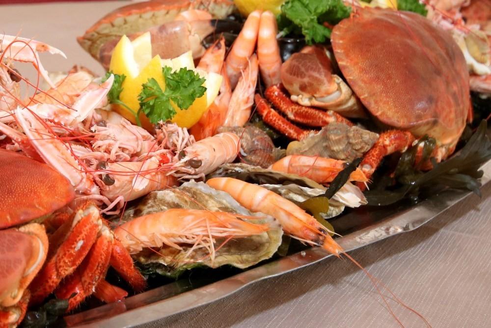 Férias em Keravel - frutos do mar