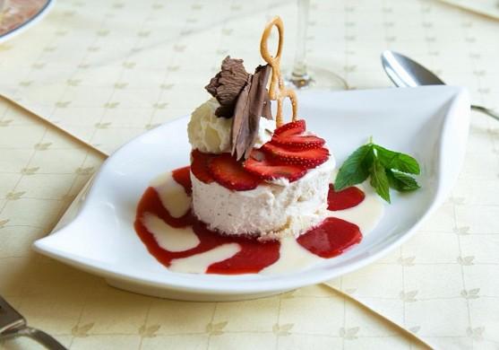Auberge de la rose - dessert