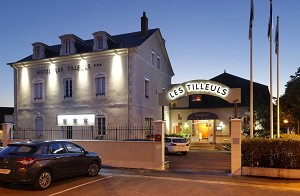 Les Tilleuls - Bourges 3 Sterne-Hotel für Seminare
