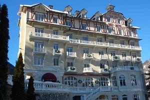 Golf Hotel Brides Les Bains - Front