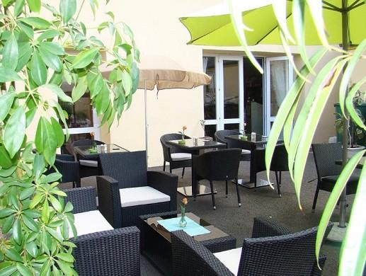 Auberge de la terrasse Chataigneraie - terrazza