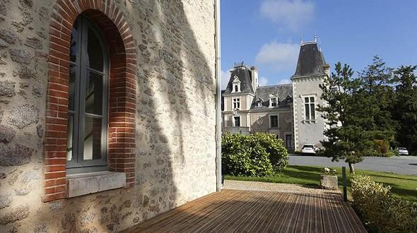 Castle Barbinière - outside