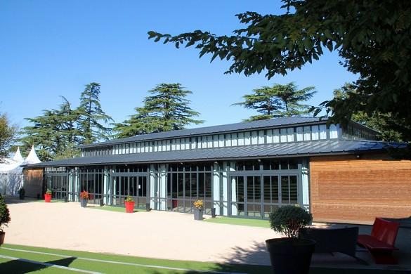 Château de la barbinière - pavilion room