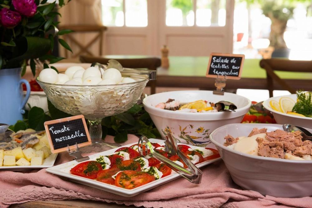 Tenuta Châteauneuf - buffet