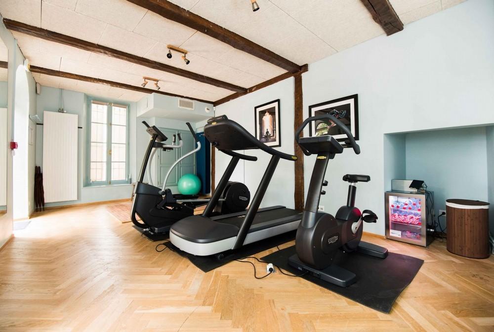 Domaine de Châteauneuf - area fitness
