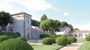 Castillo Cachard - Jardín