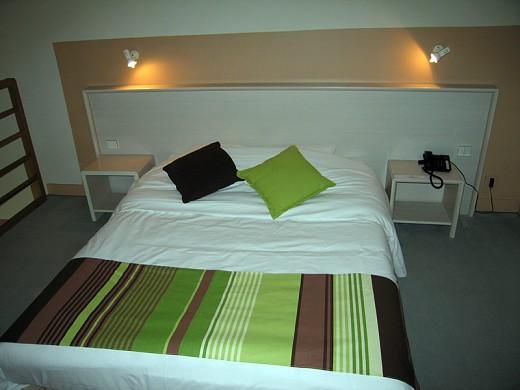 Hotel auf der Insel saussay - Zimmer