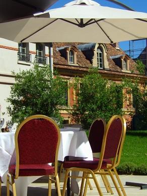 Castel maintenon hotel restaurant spa - pranzo in terrazza